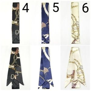 New! 2pc Any Design From 4 to 6 Satin Twilly